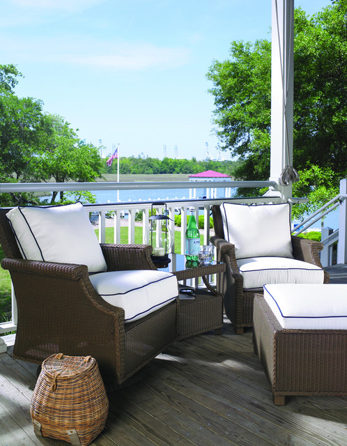 Lloyd Flanders Hamptons Seating Traditional Patio Furniture And Outdoor Furniture By Lloyd