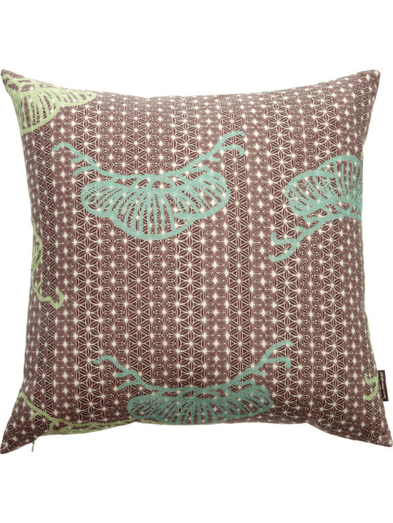 John Mahoney Maatsu Mountain Throw Pillow