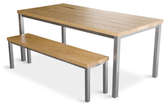 Stanley Dining Table Bench Modern Dining Tables By 2Modern