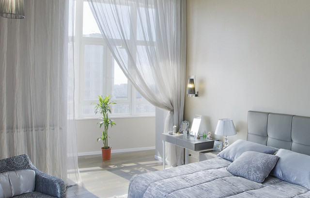 Bedroom Window Treatments Modern Bedroom Denver By