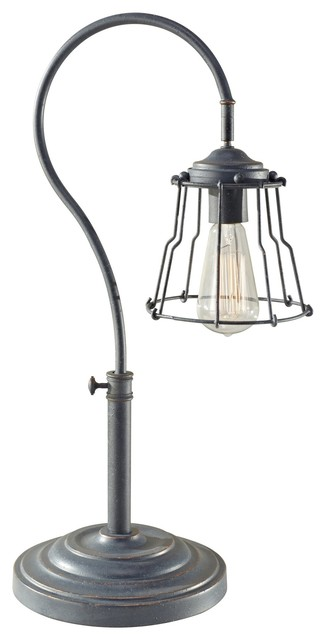 Murray Feiss MRF-10194AF Urban Renewal Transitional Table Lamp industrial-table-lamps