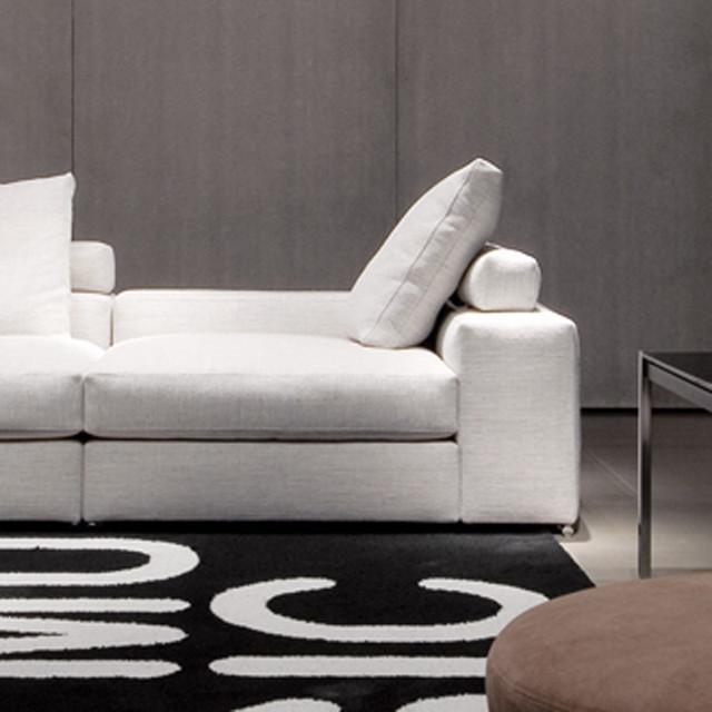 Modern Low Sofa : Minotti Jagger Low Back Sofa - Modern - Sofas - by Switch Modern