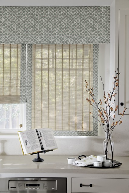Smith and noble tailored upholstered cornice traditional for Smith and noble shades