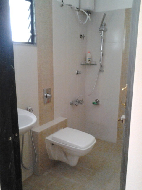 Toilet for small space for Small bathroom designs bangalore