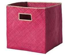 Pandan Bin - Fuchsia traditional baskets