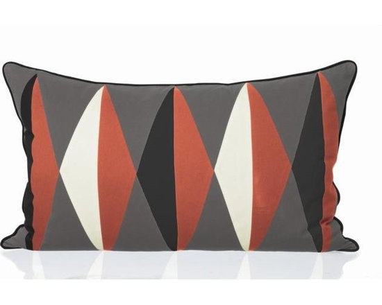 Ferm Living Organic Harlequin Pillow - With Ferm Living Pillows it is easy to create a new look and change the style in a room in a matter of minutes.