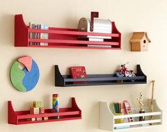 Collector's Shelves contemporary-wall-shelves