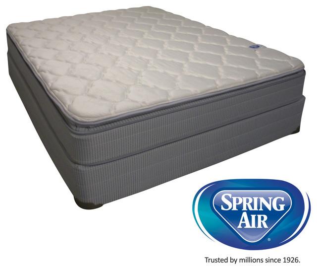 Spring Air Value Abbott Pillow Top Full size Mattress Set