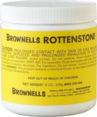 Rottenstone  cleaning supplies