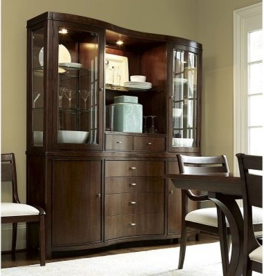 ... Dining China Cabinet - Modern - Storage Cabinets - by Hayneedle