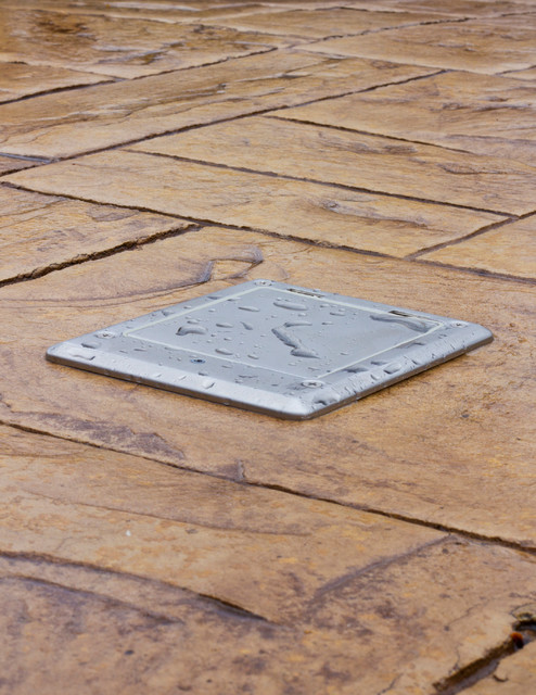 outdoor floor box - Modern - Outdoor Products - chicago - by Lew Electric Fittings company