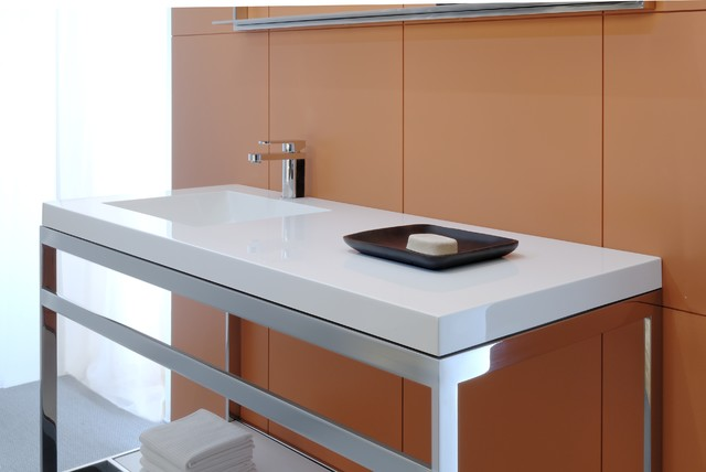 C collection bathroom vanities and sink consoles for Bathroom cabinets montreal