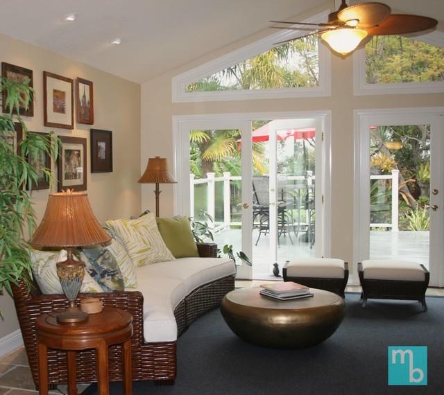 Polynesian Inspired Residence San Clemente Ca
