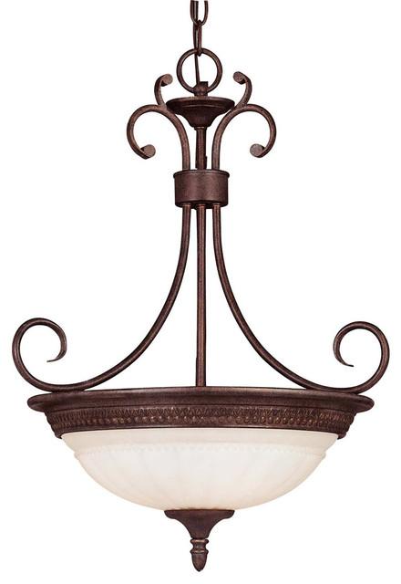 Savoy House KP-7-505-3-40 Liberty Pendant transitional-pendant-lighting