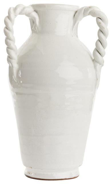 White Vase eclectic-vases