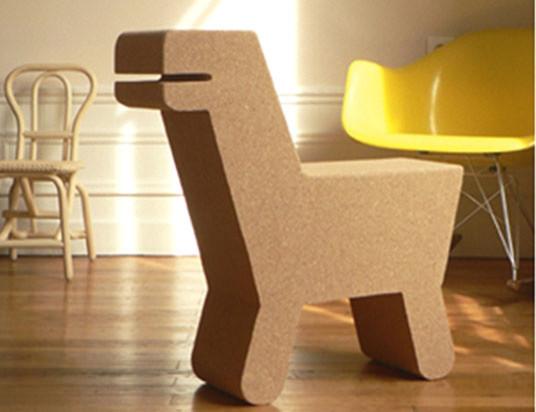 Pop Cork Dinosaur Chair Modern Kids Chairs By Little