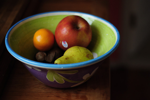 Luscious Fruit in a Bowl