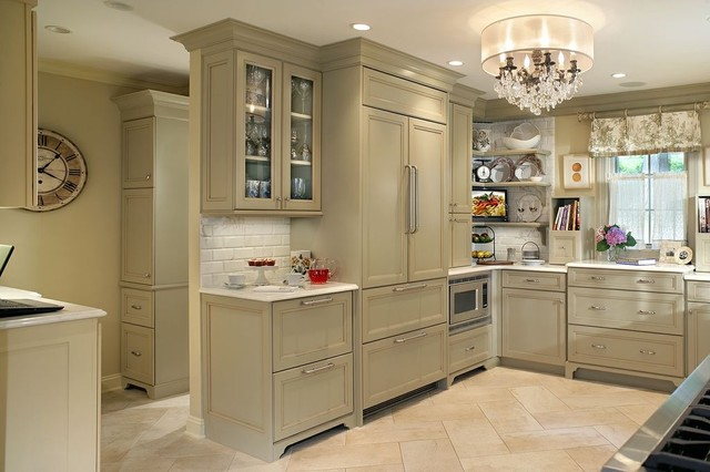 Professional photos published of Olive Green Kitchen  Eclectic  new