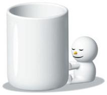 Alessi The Hug Mug modern-holiday-decorations