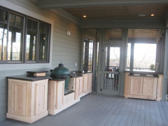 Outdoor Kitchen On Wheels Traditional Exterior