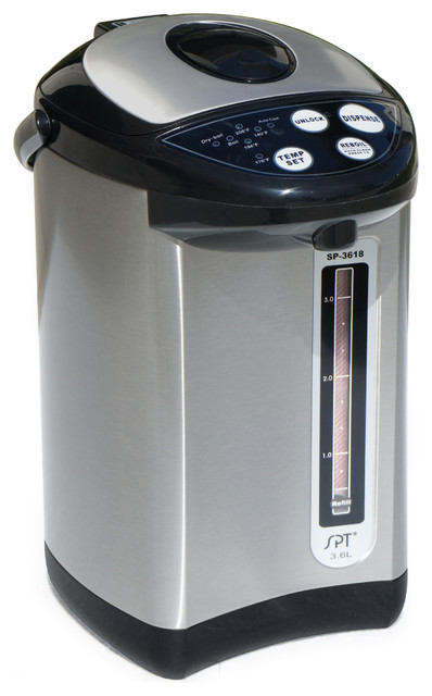 Hot Water Dispenser with Stainless Body & Multi-Temp, 3.75 Qt. contemporary-hot-water-dispensers