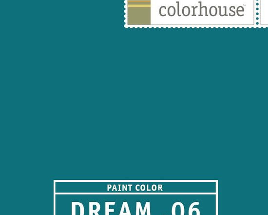 Colorhouse DREAM .06 - Colorhouse DREAM .06: Peacock feathers. Dreamy and sultry, like vintage velvet. Use in a dining room or as an accent behind shelves.