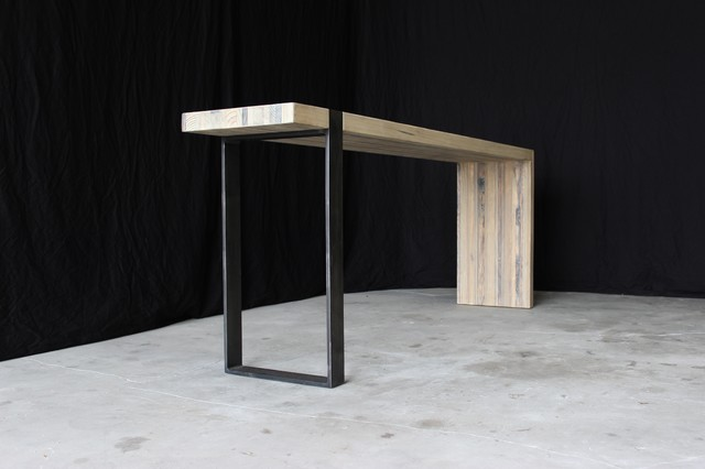 industrial modern entry table - Industrial - Side Tables And End Tables - other metro - by ...