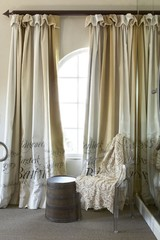 Full Length or Color Blocked Window Treatments