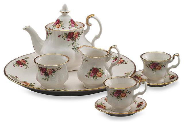 Royal Albert Le Petite 9 Piece Mini Tea Set Old Country