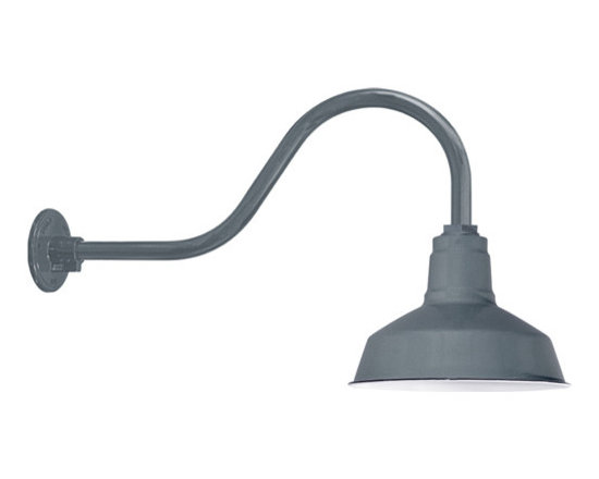 Goodrich® Dino Porcelain Gooseneck Light -