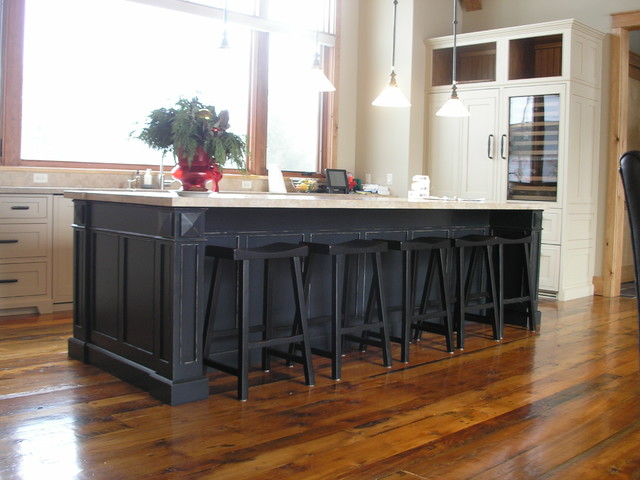 Creative Assortment - traditional - kitchen islands and kitchen