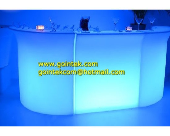 Modern Home illuminated Led Bar Counter for party -