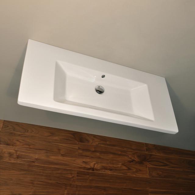 SOTTILE Sink # 4650 contemporary-bathroom-sinks