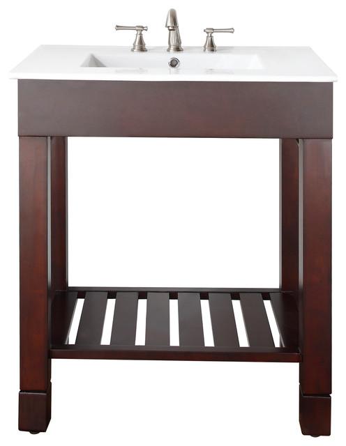 Loft 30 In Vanity Combo Contemporary Bathroom Vanities And Sink Consoles