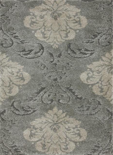 "Loloi Encore EN-03 3'10"" x 5'7"" Smoke, Beige Rug contemporary-rugs"