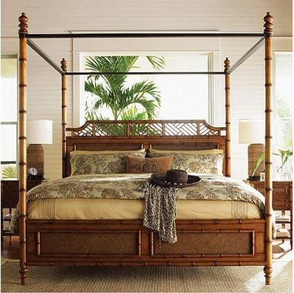 Tommy bahama island estate west indies bed tropical - Tommy bahama beach house bedroom ...