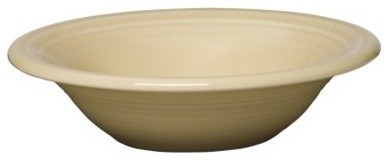 Fiesta Ivory Stacking Cereal Bowl 11 oz. - Set of 4 modern-dining-bowls