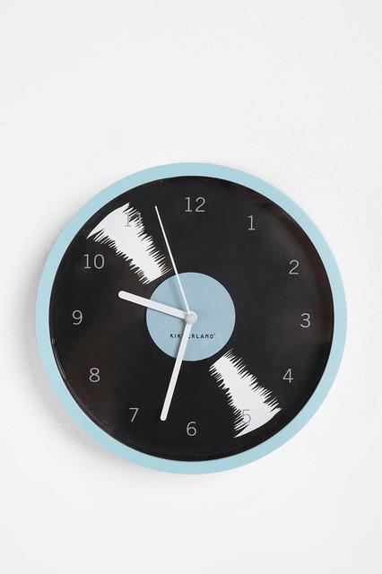 Record Album Wall Clock contemporary-clocks