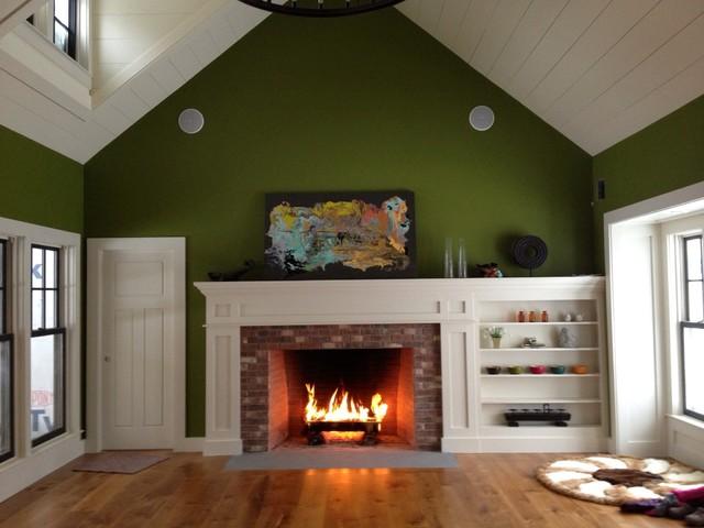 Dugan and Kim's new house traditional-living-room