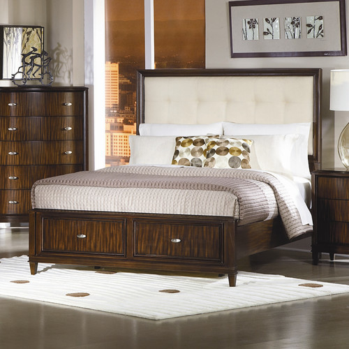Abramo Storage Panel Bed - modern - headboards - by Wayfair