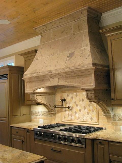 Rustic Pinon Kitchen Hood Mediterranean Range Hoods