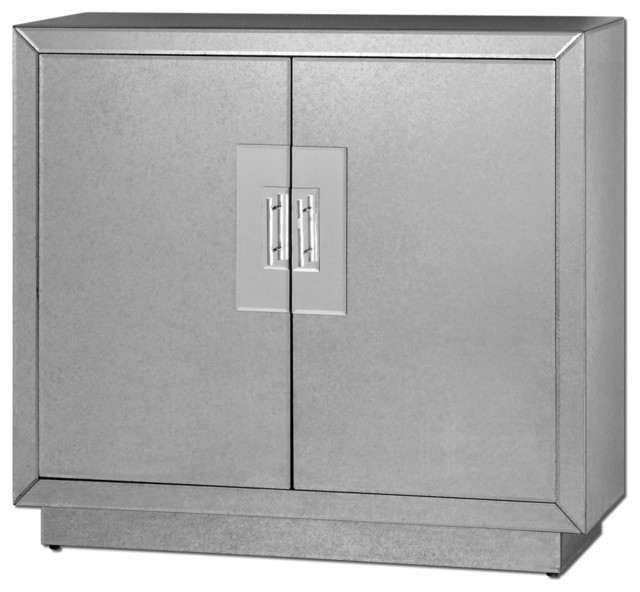 Uttermost 24183 Andover Mirrored Cabinet contemporary-storage-units-and-cabinets