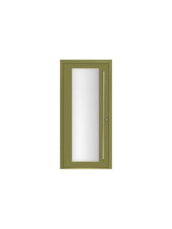 Milano-12C1 modern exterior door by Milano Doors. -