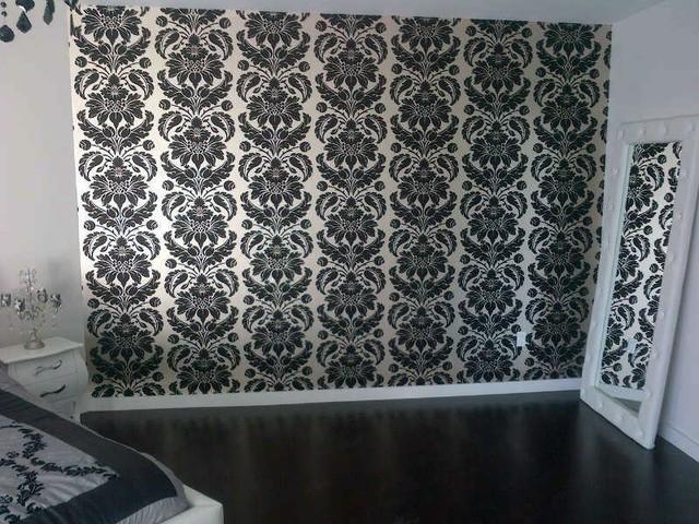 The Wallpaper Company installations contemporary
