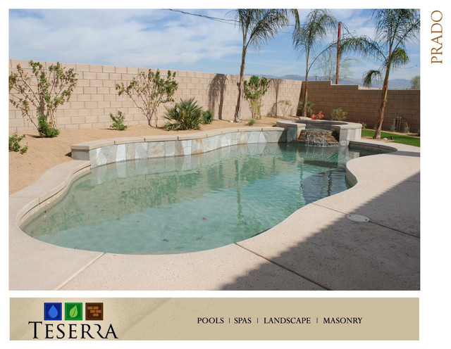 Conventional Pools Palm Springs Area traditional