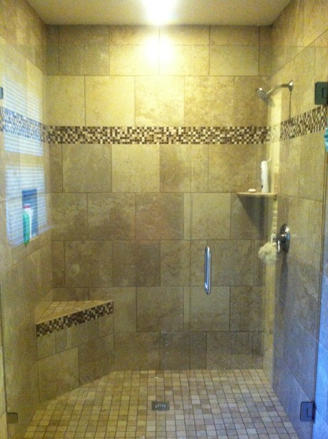 Madison Bath Renovation traditional-showerheads-and-body-sprays