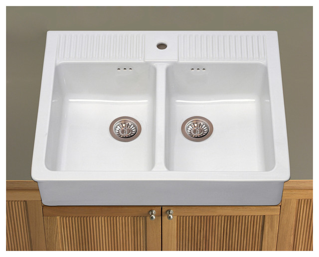 Double Bowl Laundry Tub Utility Sink : All Products / Utility Room / Utility Room Sinks