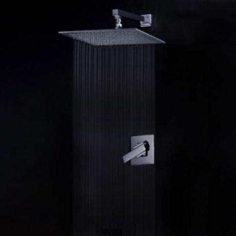 Modern Bathroom Single Handle Faucet Wall Mounted modern-bathroom-faucets