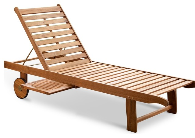 ... Chaise Lounge - Contemporary - Outdoor Chaise Lounges - by Overstock