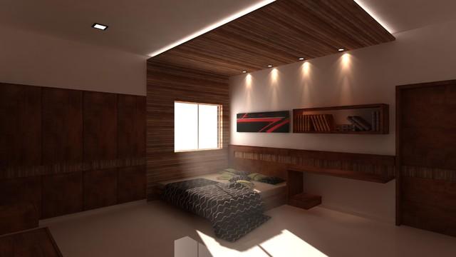 bed room modern-bedroom